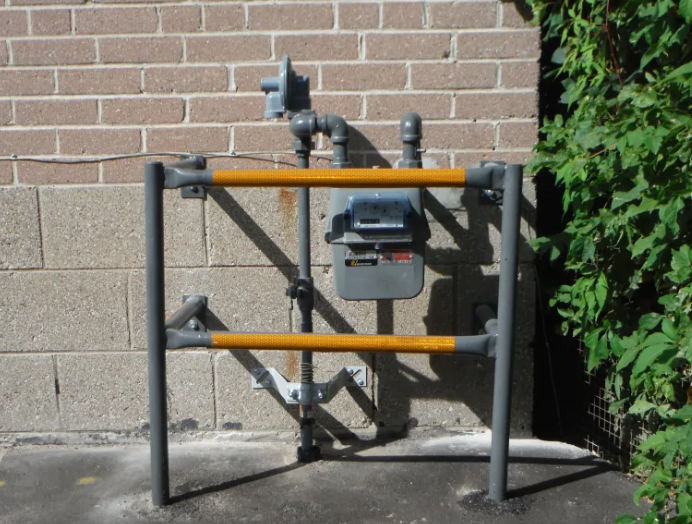 gas meter barrier